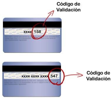 codigo de validacion