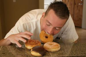 comida sucia vs alimentos limpios