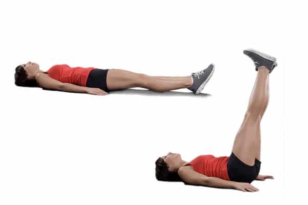 leg ups abdominales