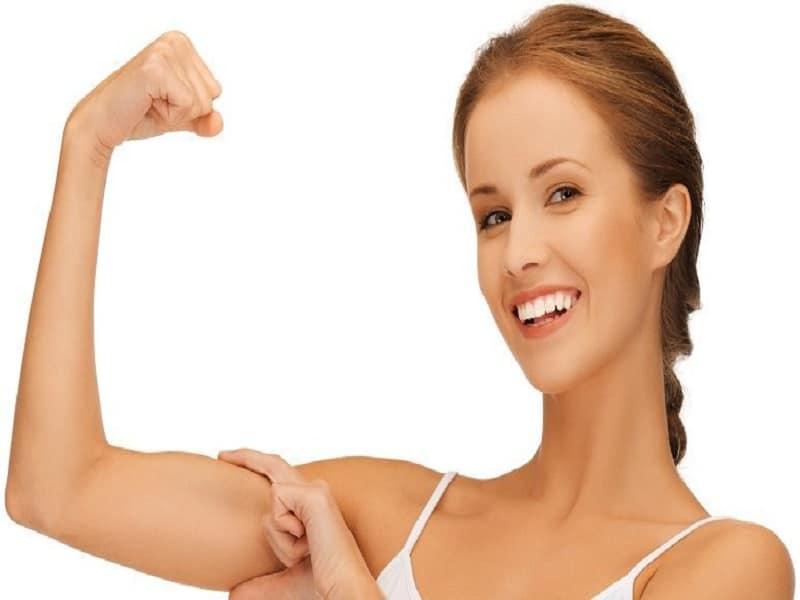 rutina de ejercicios para brazos flácidos