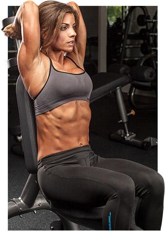 entrenamiento para triceps