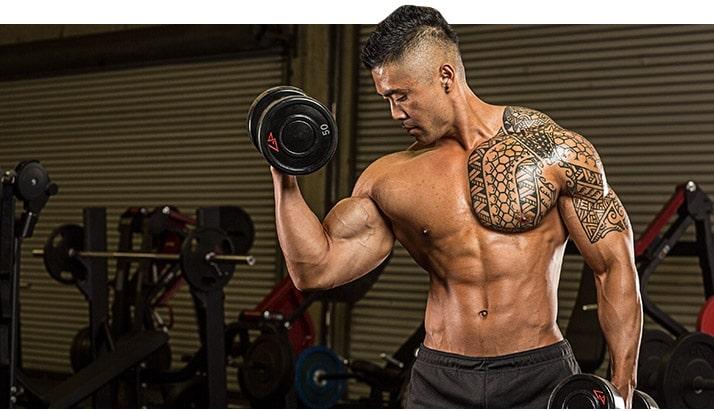 construir biceps