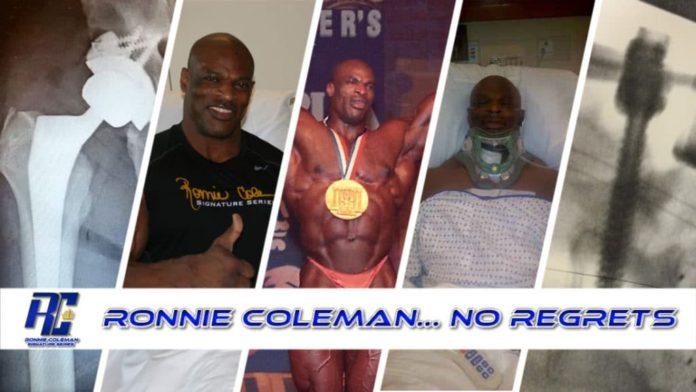 Cirugias Ronnie Coleman