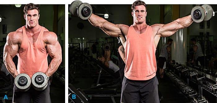 entrenamientos de hombros
