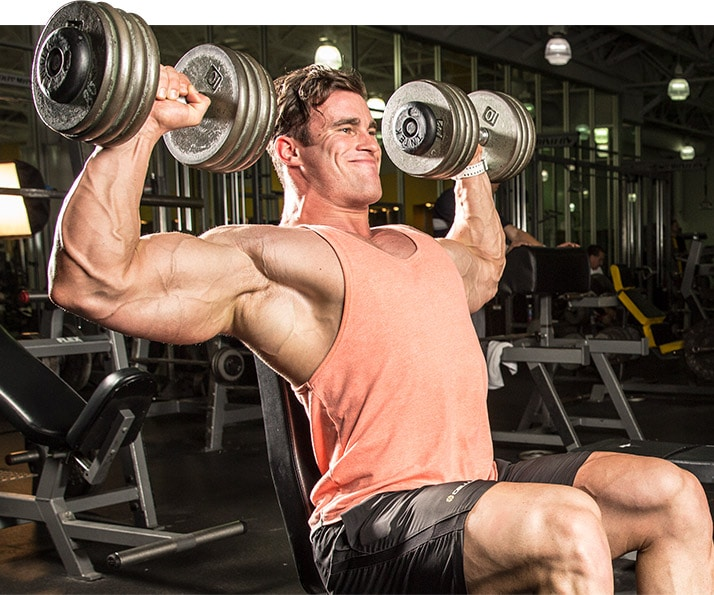 entrenar hombros