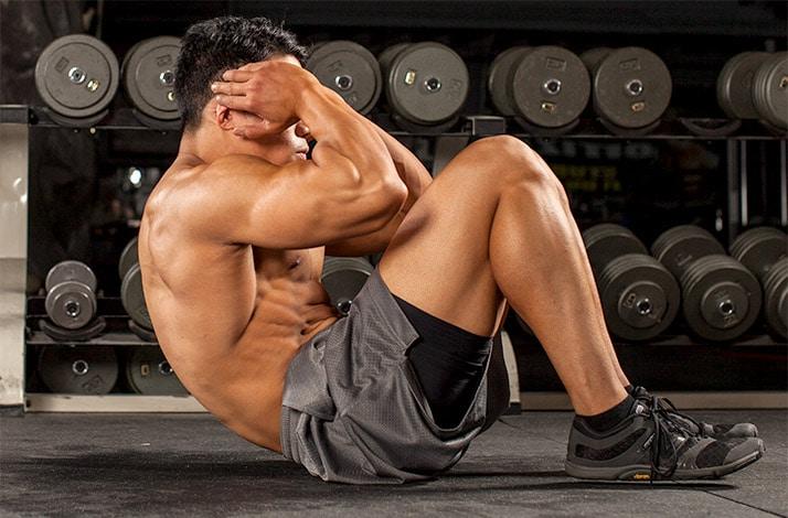 entrenar abdominales