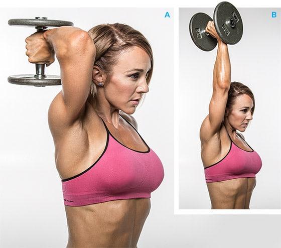 extensiones de triceps