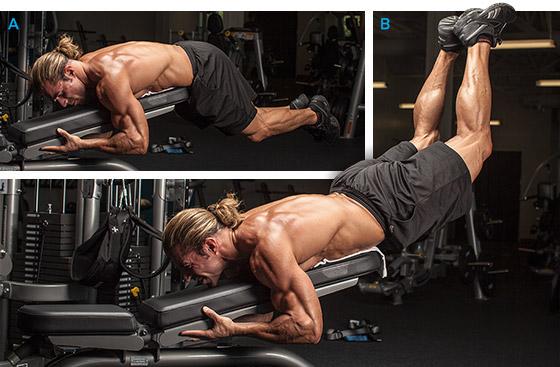 Extensiones de espalda reversas