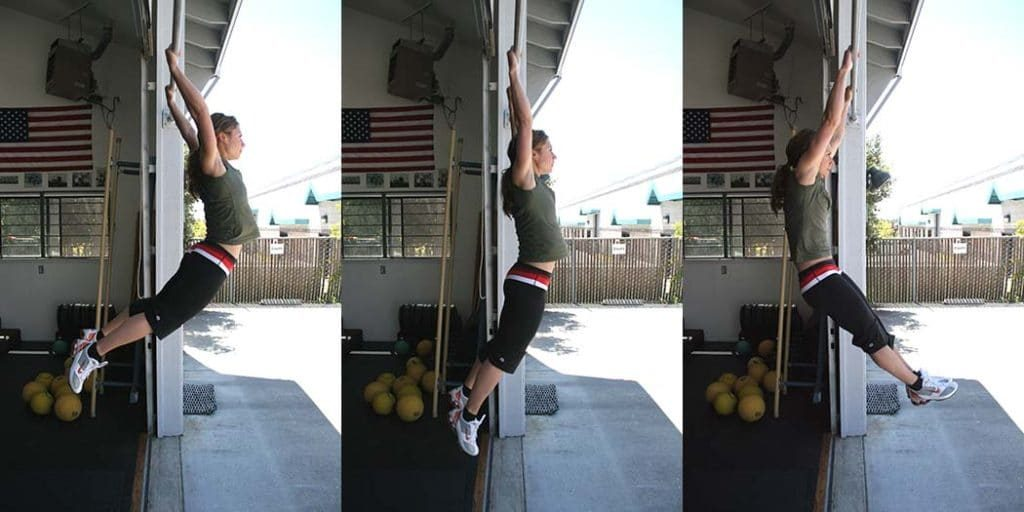 Kipping pullup