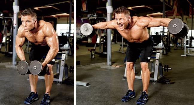 cómo agrandar tus hombros a gran volumen