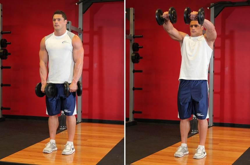 cómo construir hombros de gran volumen