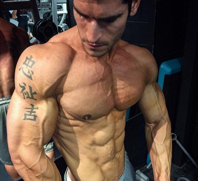 construir músculos