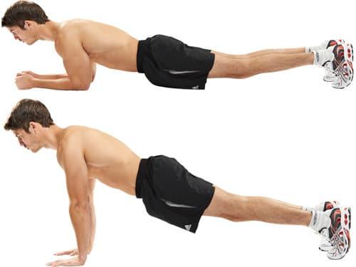 6 Entrenamientos Para Construir Músculo en Casa (Parte II): De plancha a pushup