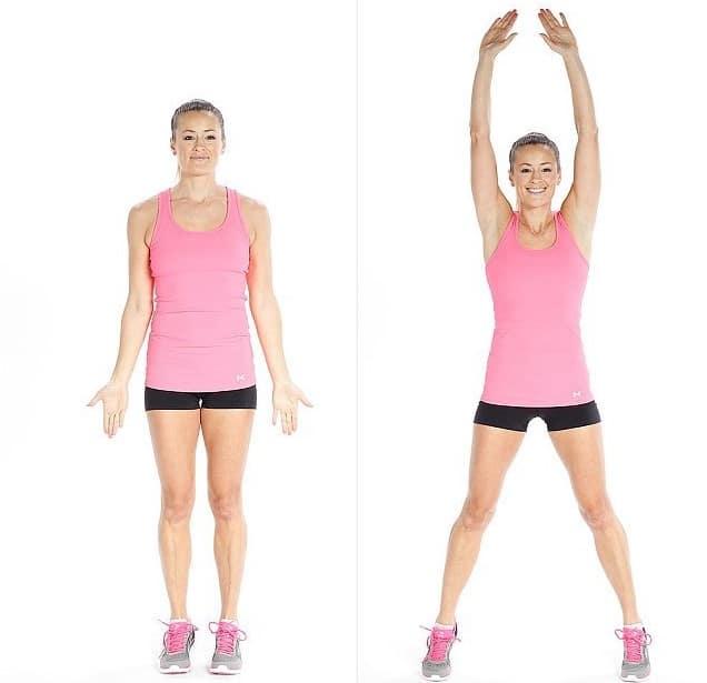 jumping jacks para entrenamientos efectivos