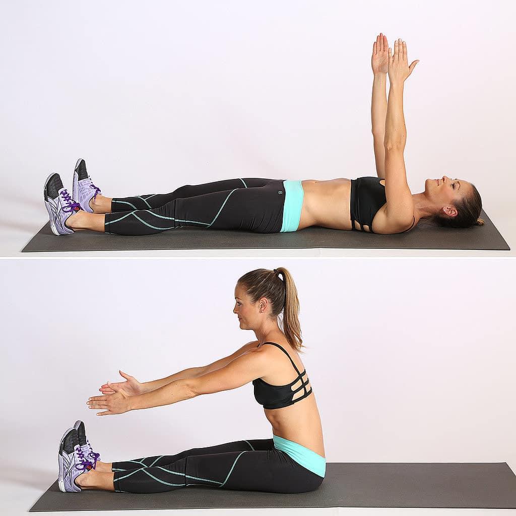 6 Entrenamientos Para Construir Músculo en Casa (Parte II): Abdominales con piernas rectas