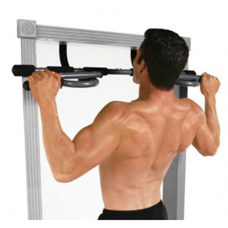 6 Entrenamientos Para Construir Músculo en Casa (Parte II): Pullup con agarre abierto