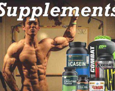 Consumo de suplementos para crecimiento muscular: Qué tomar y cuando