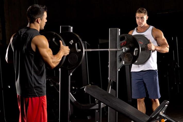ejercicios de pecho para principiantes