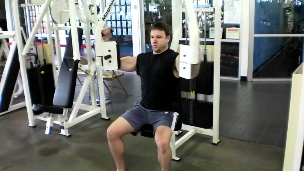 Sets Cannonball para aumentar tu musculatura: peck deck fly