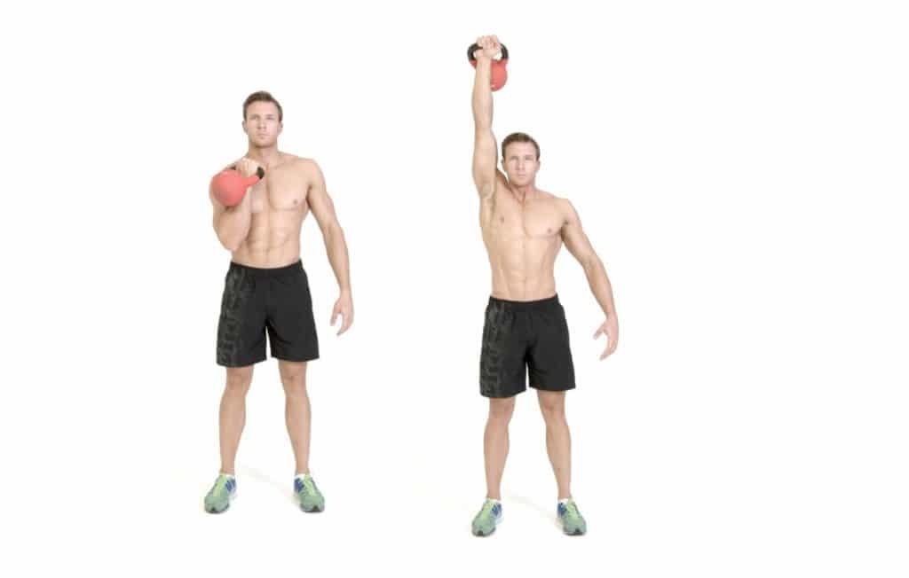 El entrenamiento de abdominales que nunca imaginaste: overhead press