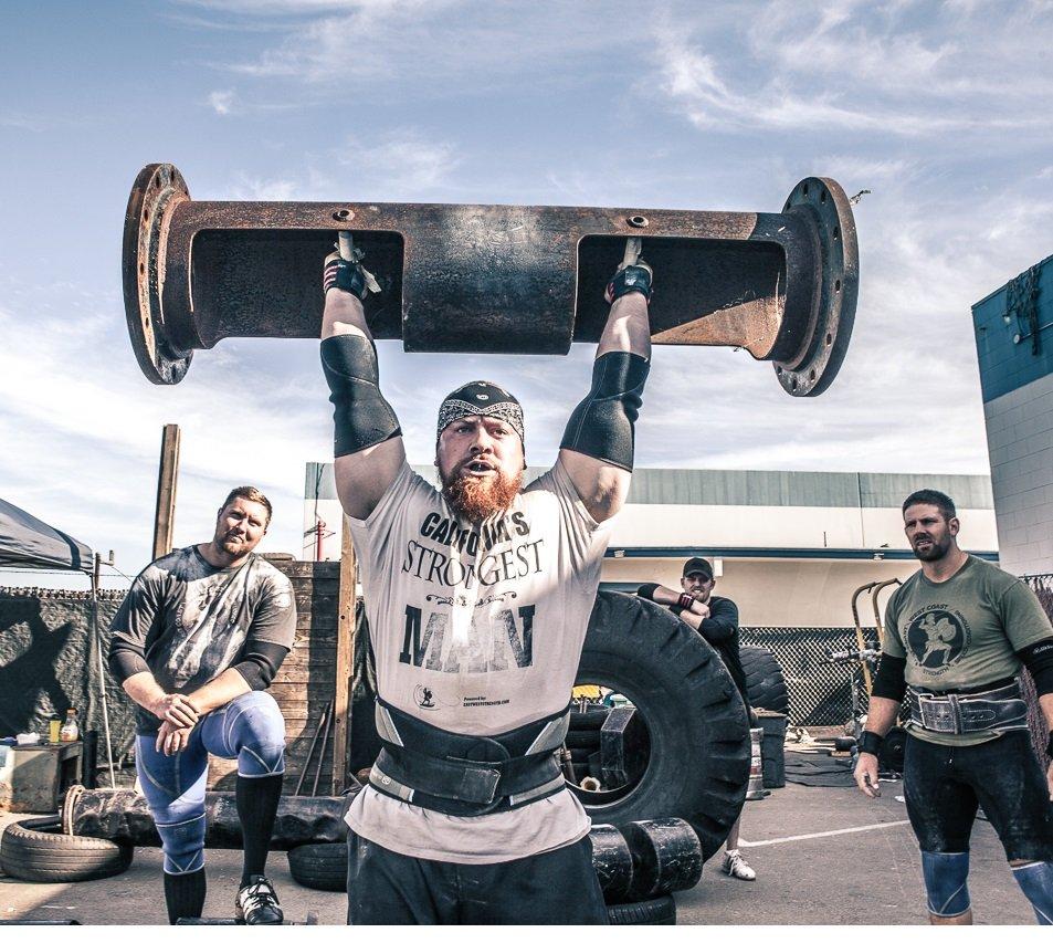 Como volverte más fuerte en 31 días: entrena como strongman
