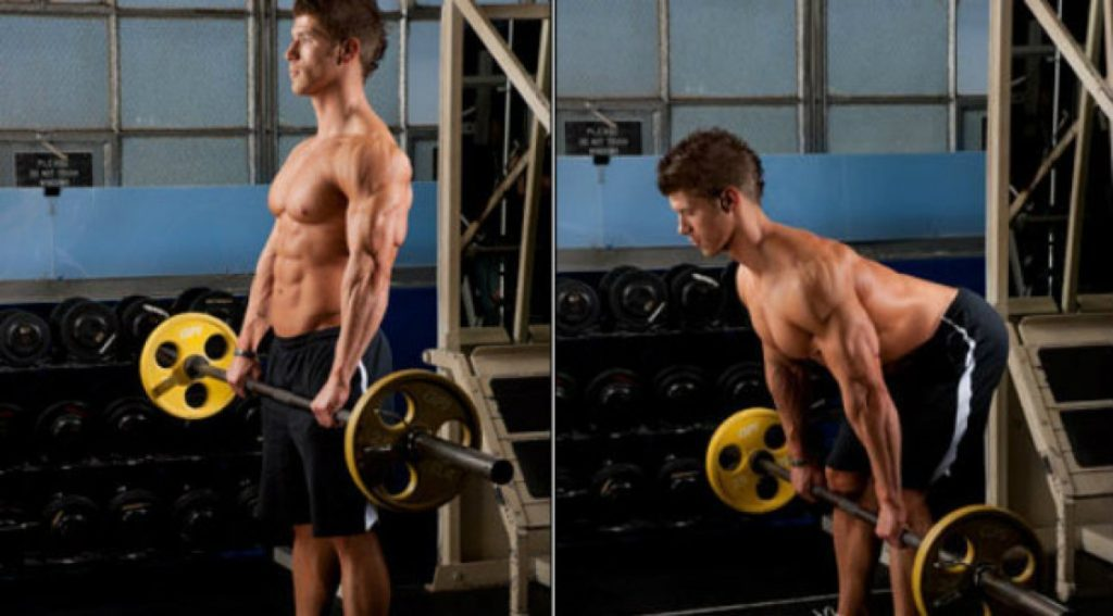 9 mejores movimientos compuestos para aumentar fuerza y tamaño: levantamiento de peso muerto