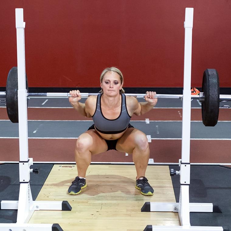 9 mejores movimientos compuestos para aumentar fuerza y tamaño: sentadilla