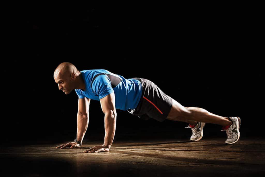 Movimientos para mejorar la fuerza corporal: push up