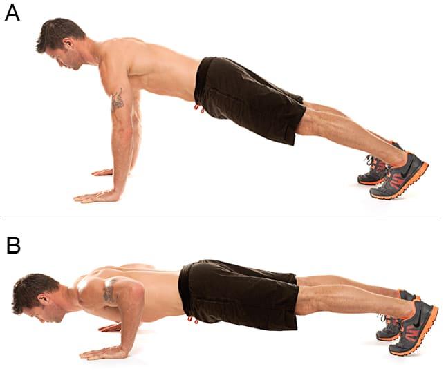 Construye un pecho más fuerte con ejercicios isométricos