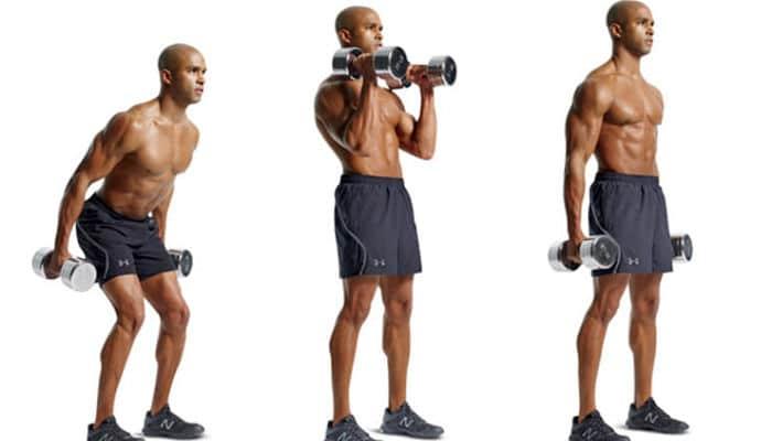entrenamiento extremo de cuerpo completo con mancuernas