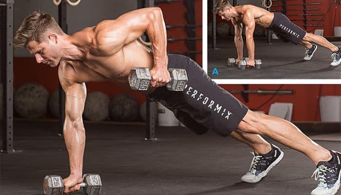 El entrenamiento extremo de cuerpo completo con mancuernas