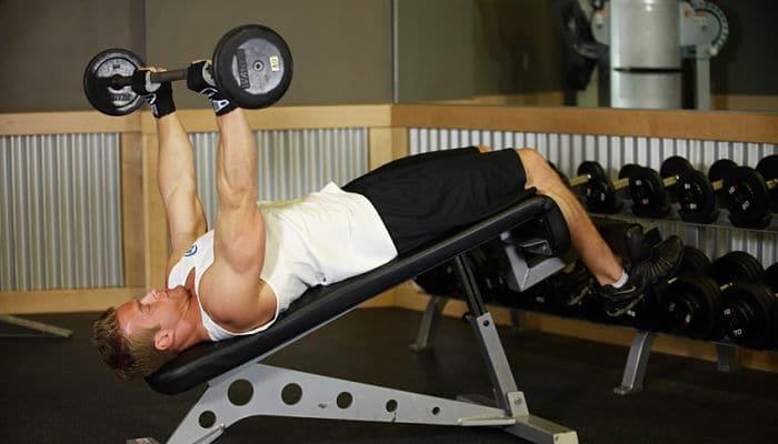 ¡El entrenamiento extremo de hombros y tríceps!