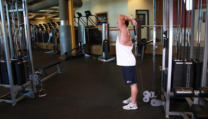El entrenamiento extremo de hombros
