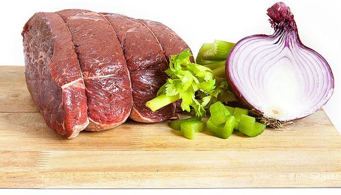 Cortes de carne ricos en proteína