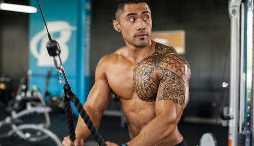 Haz que tus tríceps estén a la altura de tus bíceps
