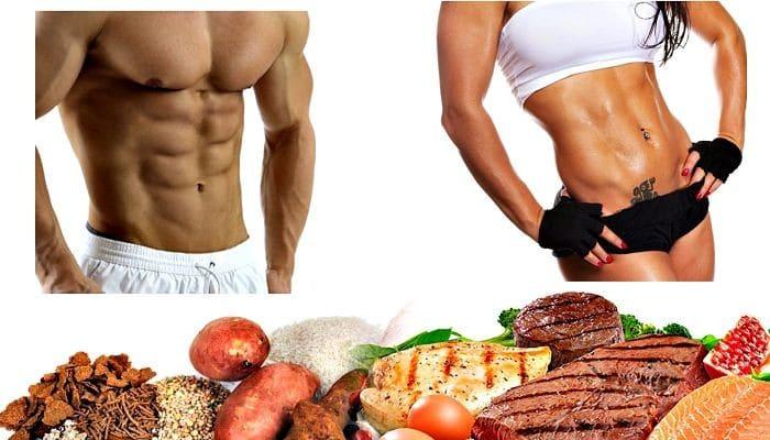Macronutrientes para los musculos