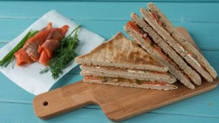 Cómo Preparar Un Sándwich Fitness