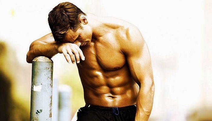 Descanso para hacer crecer los musculos