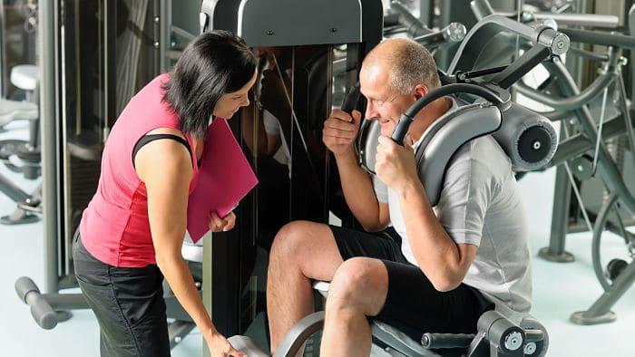 Inicio de ejercicios en edad avanzada