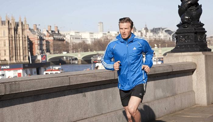 Ritmo de respiración al correr