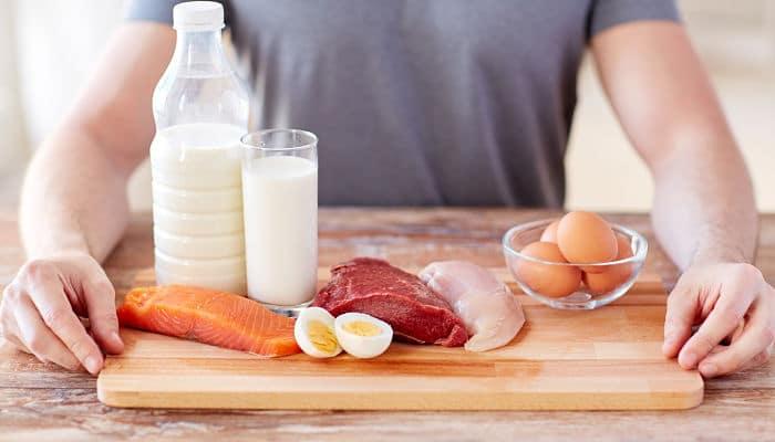 La Proteina para los musculos