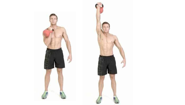 Levantamiento de pesas para el abdomen