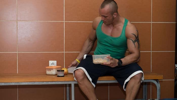 Comidas después del entrenamiento