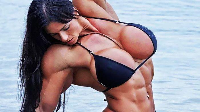 Mujer fisicoculturista