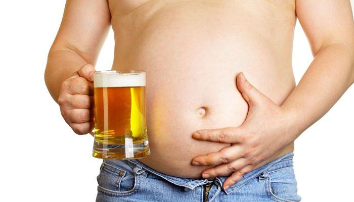 Barriga cervecera