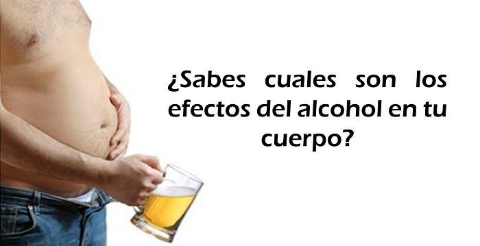 El Alcohol y la grasa