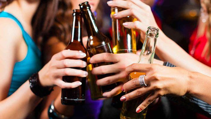 Consumo de alcohol de un fitness