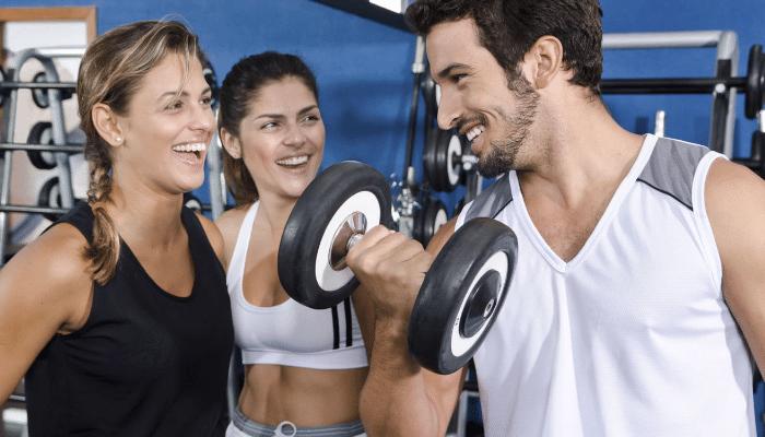Vida social en el gym