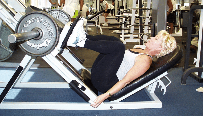 Prensa para piernas