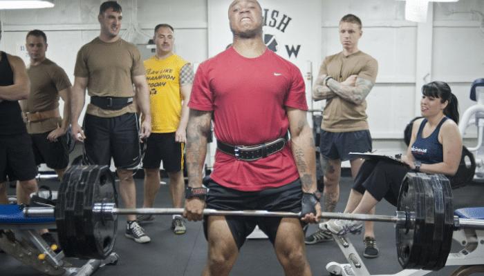 Fuerza para entrenar
